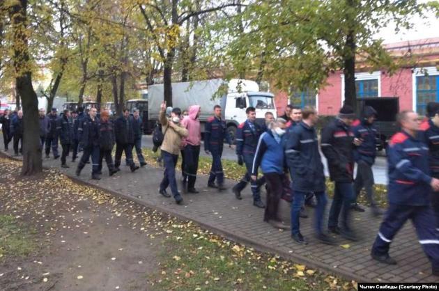 Національний страйк у Білорусі. На підприємствах почалися протести