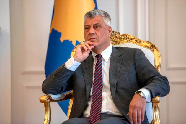Президент Косово й колишній лідер партизан Хашим Тачі подав у відставку