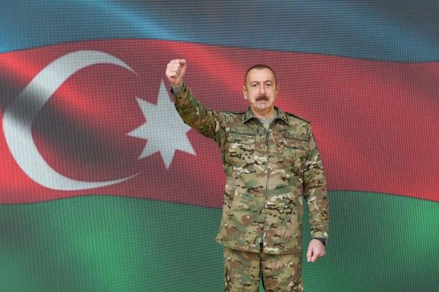 «Карабах — наш!». Президент Азербайджану заявив про «звільнення» стратегічного міста Нагірного Карабаху