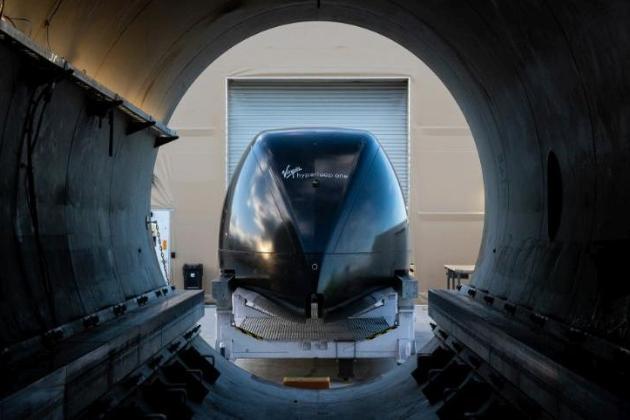 Hyperloop вперше пройшов випробування із людьми (відео)