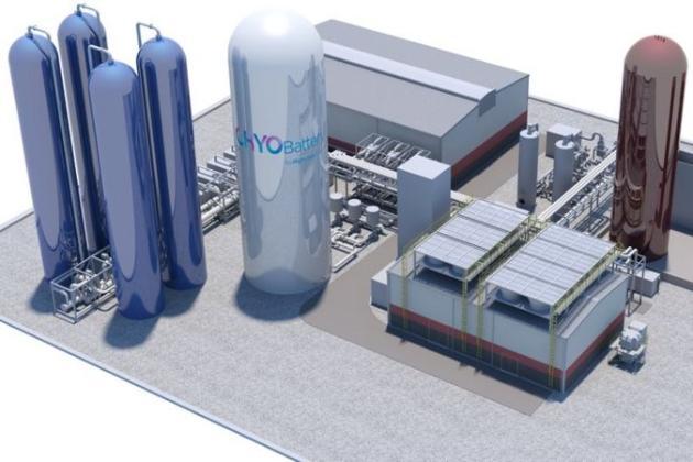 У Великобританії з'явиться перша у світі установка для збереження енергії в повітрі