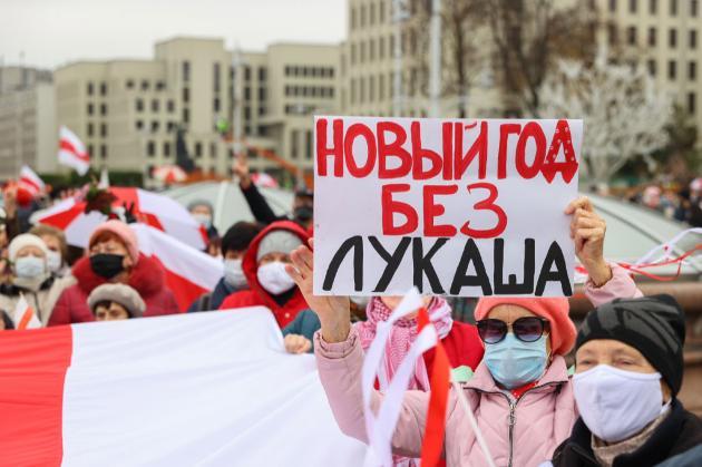 У Білорусі затримали понад тисячу учасників «Маршу народовладдя»