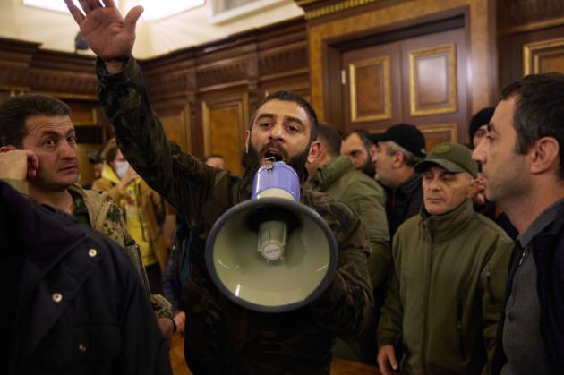 Влада Вірменії затримала шістьох демонстрантів — їх підозрюють у закликах до захоплення влади