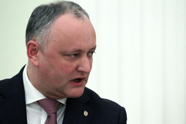 Додон закликав молдован вийти на вулиці після другого туру виборів президента для захисту його обрання