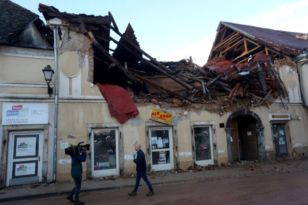 Землетрус у Хорватії. Уряд України надасть гуманітарну допомогу країні