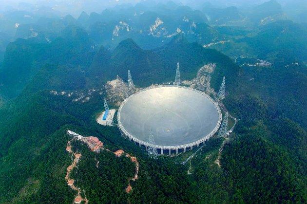 Китай відкриє для міжнародної спільноти вчених найбільший у світі сферичний радіотелескоп
