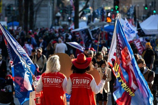 Прихильникам Трампа заборонили носити зброю на акції протесту