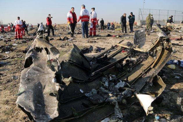 Голова Нацбюро заявив, що Іран хотів підробити дані про збиття літака МАУ