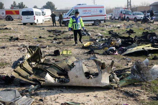 Україна вже досліджує планшет, знайдений на місці катастрофи літака МАУ
