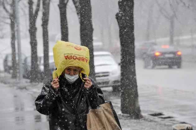 Погодний сюрприз. Київ накриє сильний снігопад
