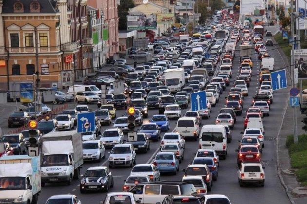 Українські міста увійшли до світового рейтингу за кількістю заторів