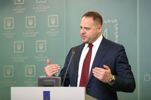Єрмак відреагував на санкції США проти Дубінського та Онищенко