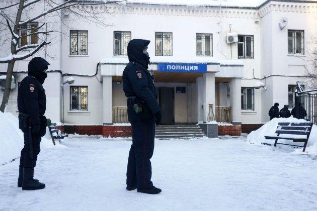 Навального судять прямо у приміщенні поліції