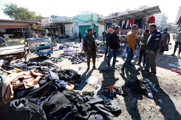 «Ісламська держава» взяла відповідальність за теракт в Багдаді