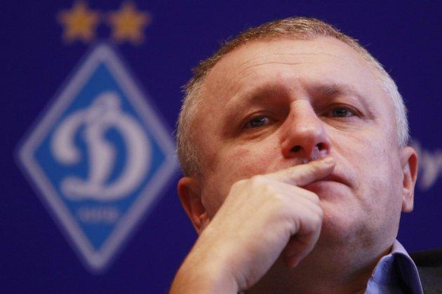 Українська асоціація футболу оштрафувала Суркіса за інтерв'ю