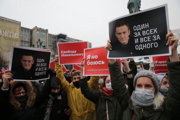 Держдеп США закликав «негайно й без жодних умов» звільнити Навального