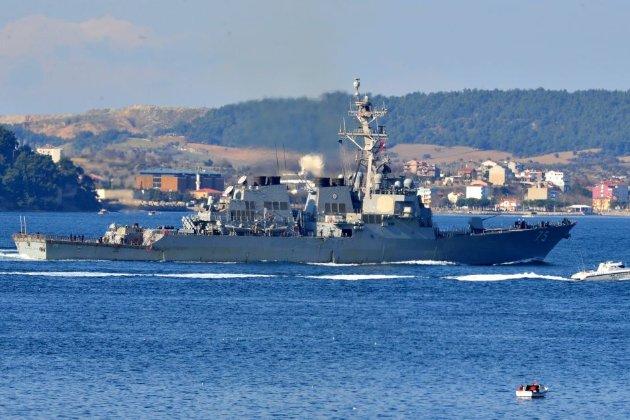 Чому у Чорне море зайшов американський есмінець