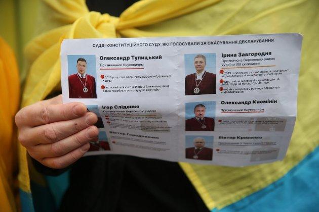Конфлікт інтересів у КСУ. Глава НАЗК склав адмінпротоколи щодо трьох суддів Конституційного суду