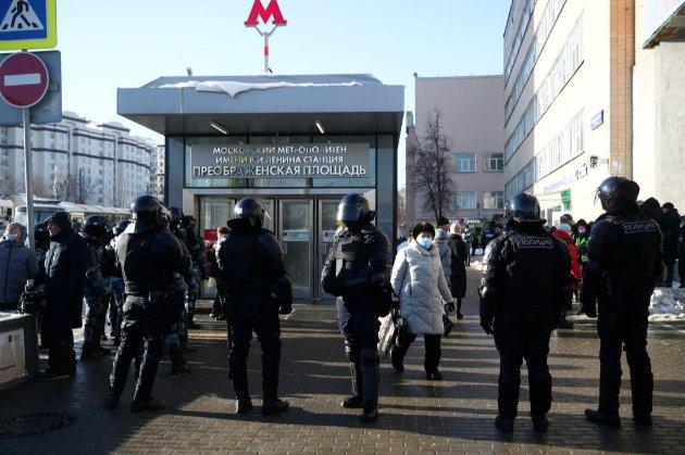 В Москві судять Навального. Його соратники закликали людей виходити на протести