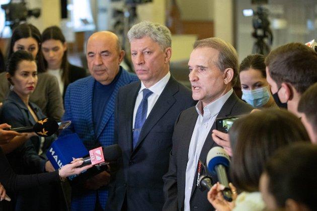 У ЄС та США підтримали санкції проти телеканалів, пов'язаних з Медведчуком