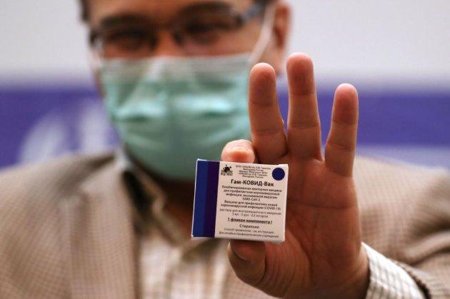 Кабмін заборонив російську вакцину проти коронавірусу