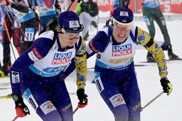 Чемпіонат світу з біатлону. Україні не вистачило пів секунди до медалі