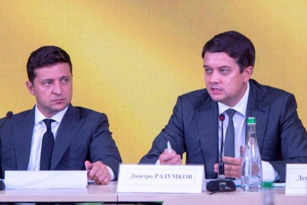Зеленський хоче замінити Разумкова на посаді голови ВР на Стефанчука — ЗМІ