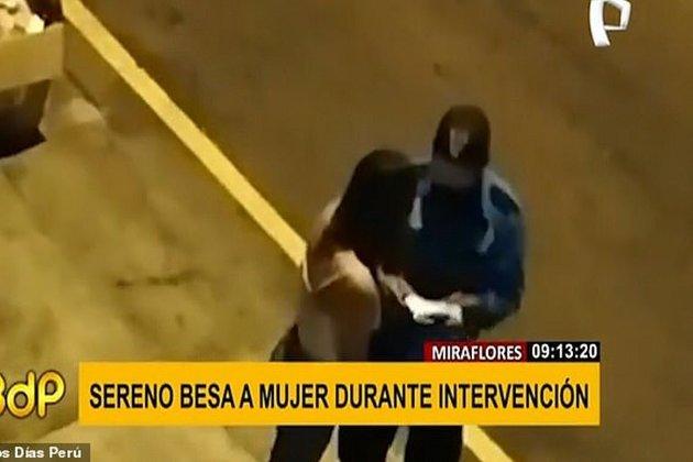 У Перу дівчина порушила карантин і відкупилась від копа поцілунком. Того звільнили
