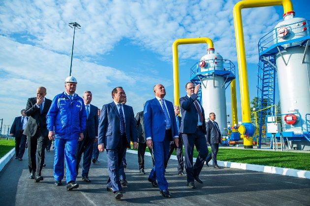 Російський «Газпром» різко знизив транзит газу