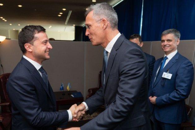 Зеленський попросив План дій щодо членства в Альянсі у генсека НАТО