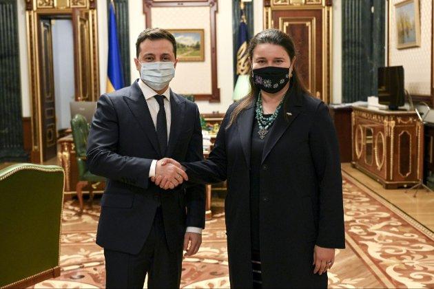 Оксана Маркарова стала новим послом України в США