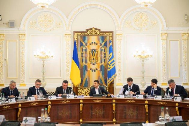 Зеленський збільшив штат апарату РНБО до 237 співробітників