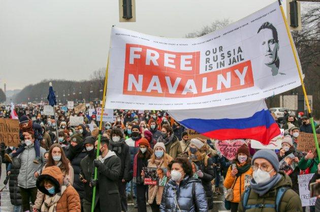 ЄС наклав санкції на російських посадовців, причетних до ув'язнення Навального