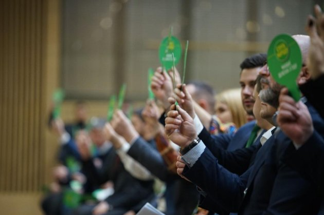 «Слуга народу» збереться на з'їзд 13 березня, аби змінити систему управління партією
