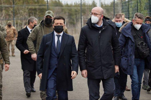 «Україні потрібна негайна судова реформа». Про що говорив президент Євроради на Донбасі