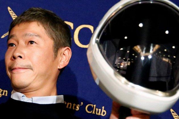 Японський мільярдер набирає команду для подорожі на Місяць