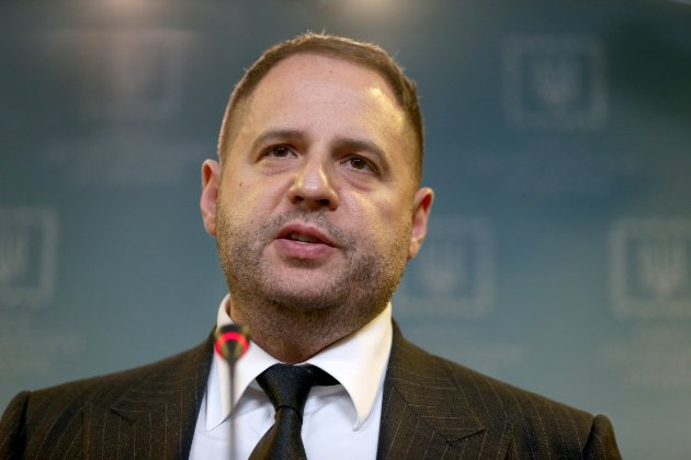 Єрмак заявив, що План мирного врегулювання на Донбасі готовий