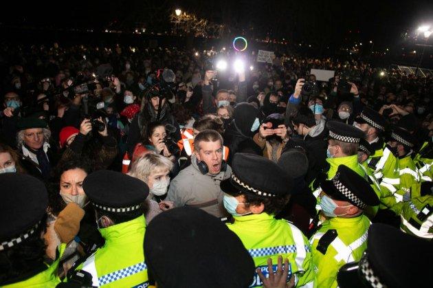 У Лондоні поліція розігнала акцію пам'яті вбитої жінки