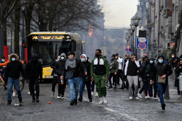У Бельгії відшуміли заворушення в місті Льєж