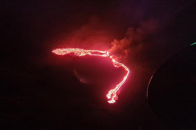 Біля столиці Ісландії сталося виверження вулкану Фаградальсфьяла