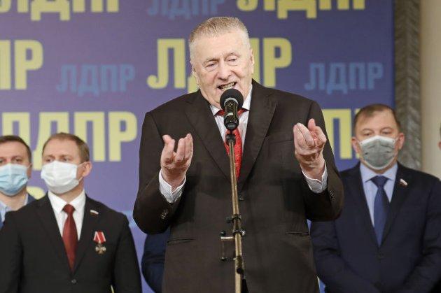 Жириновський запропонував РФ напасти на Україну «без оголошення війни»