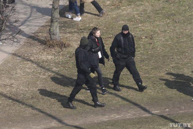 День Волі у Мінську. Силовики затримали більше 60 активістів