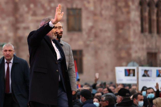 Пашинян в квітні піде у відставку з посади прем'єра Вірменії