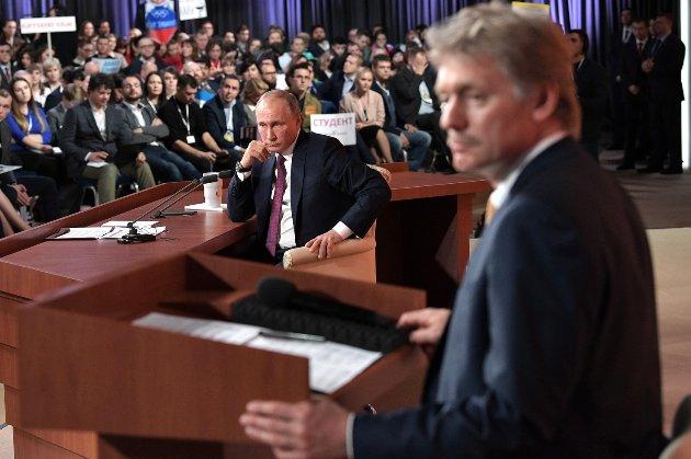 Путін не планує говорити із Зеленським про загострення на фронті