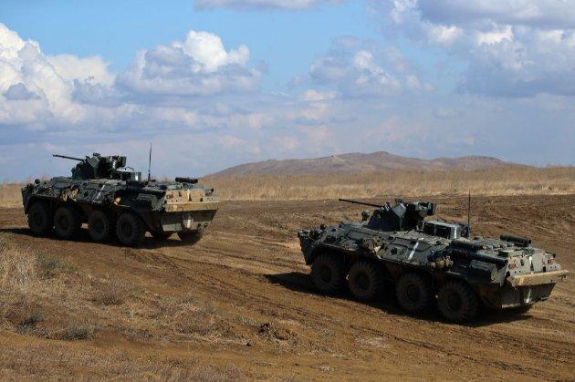 РФ нарощує війська поблизу кордону України на півночі, сході та півдні