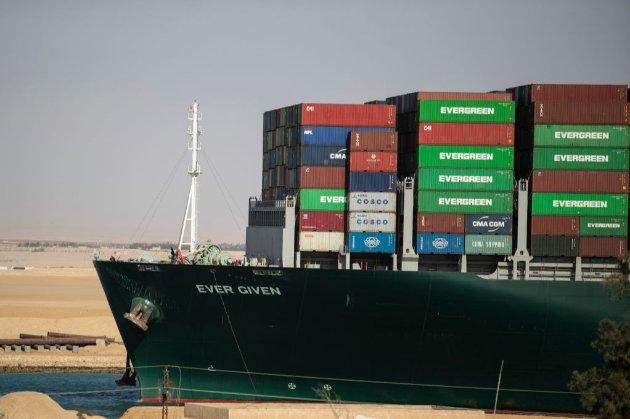 Збитки від блокування Суецького каналу можуть сягнути $1 млрд