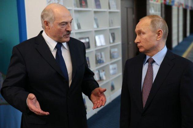 Лукашенко і Путін обговорили зовнішні загрози «із західного напрямку»