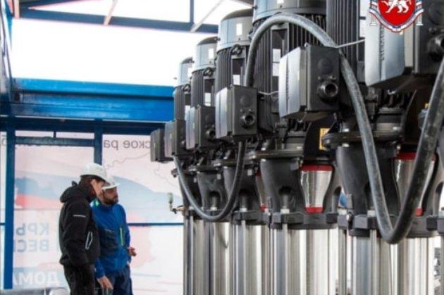 На водогоні в окупованому Криму помітили обладнання Siemens