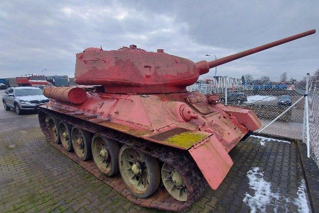 У Чехії чоловік здав поліції танк і артилерійську установку
