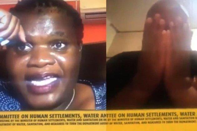 Оголена дружина чиновника ПАР зірвала Zoom-конференцію (відео)